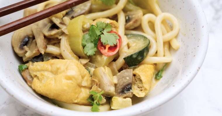 Thai Green Curry Noodles
